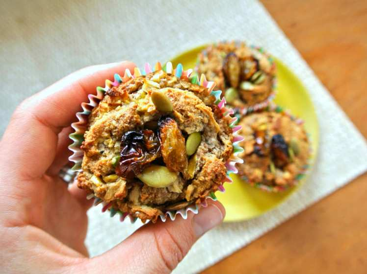 Vegan and Gluten-Free Blender Apple Muffins 2