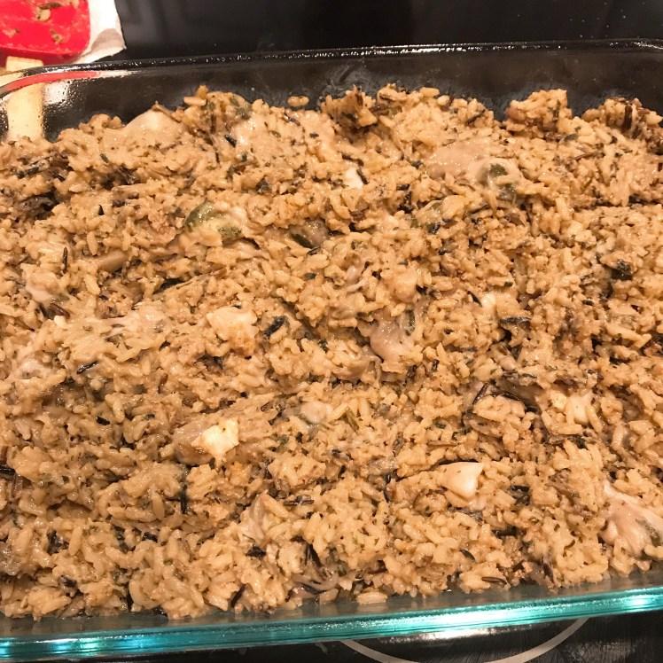 Wild Rice prep