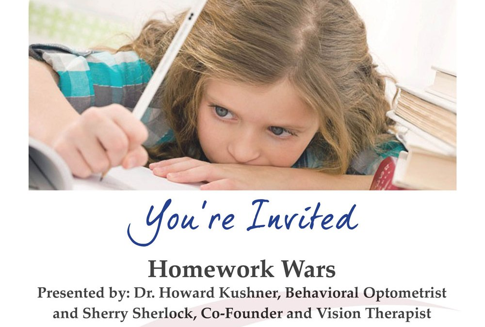 Upcoming Event: Homework Wars