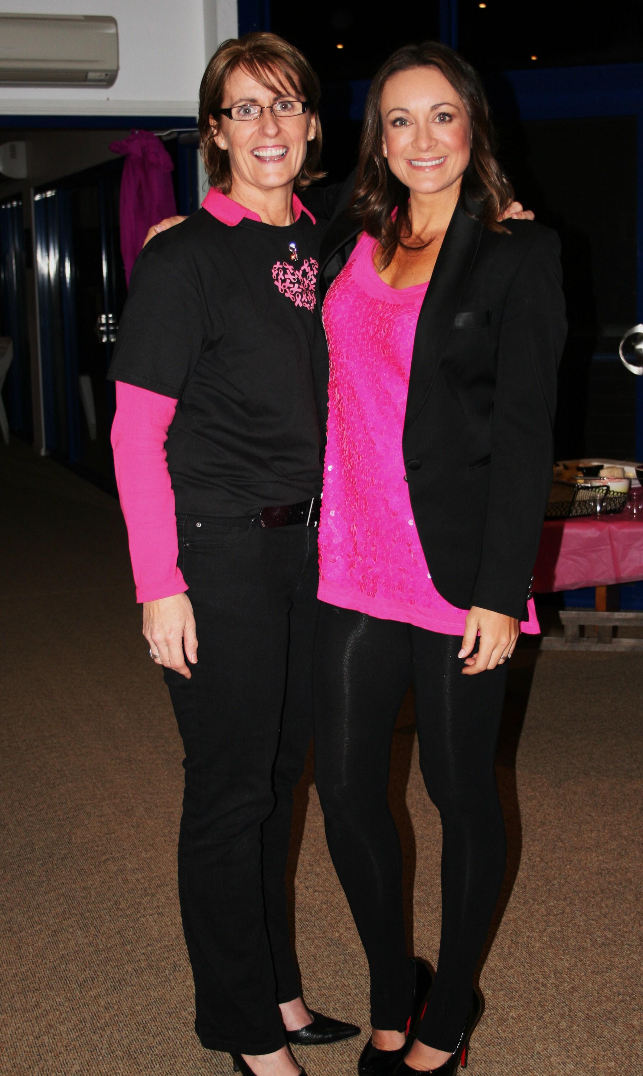 Michelle Bridges  and Caroline 192