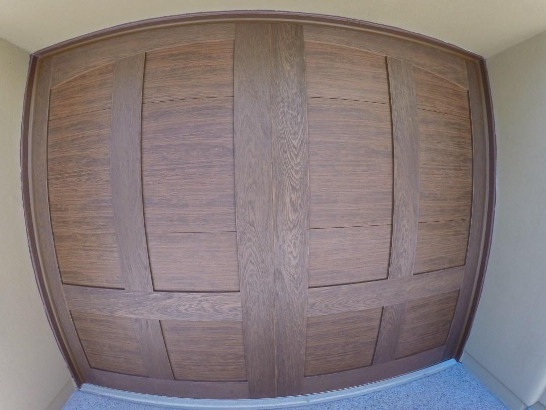 Dual directional wood grain