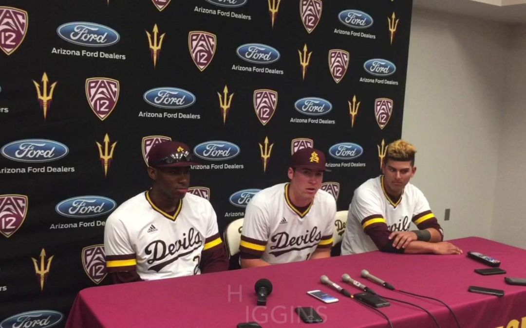 ASU baseball players on meeting Barry Bonds
