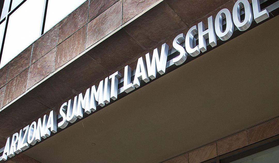 Arizona Summit Law School in Phoenix put on probation for low bar-passage rates