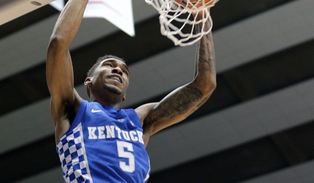 Kentucky in the mix for No. 1 seed