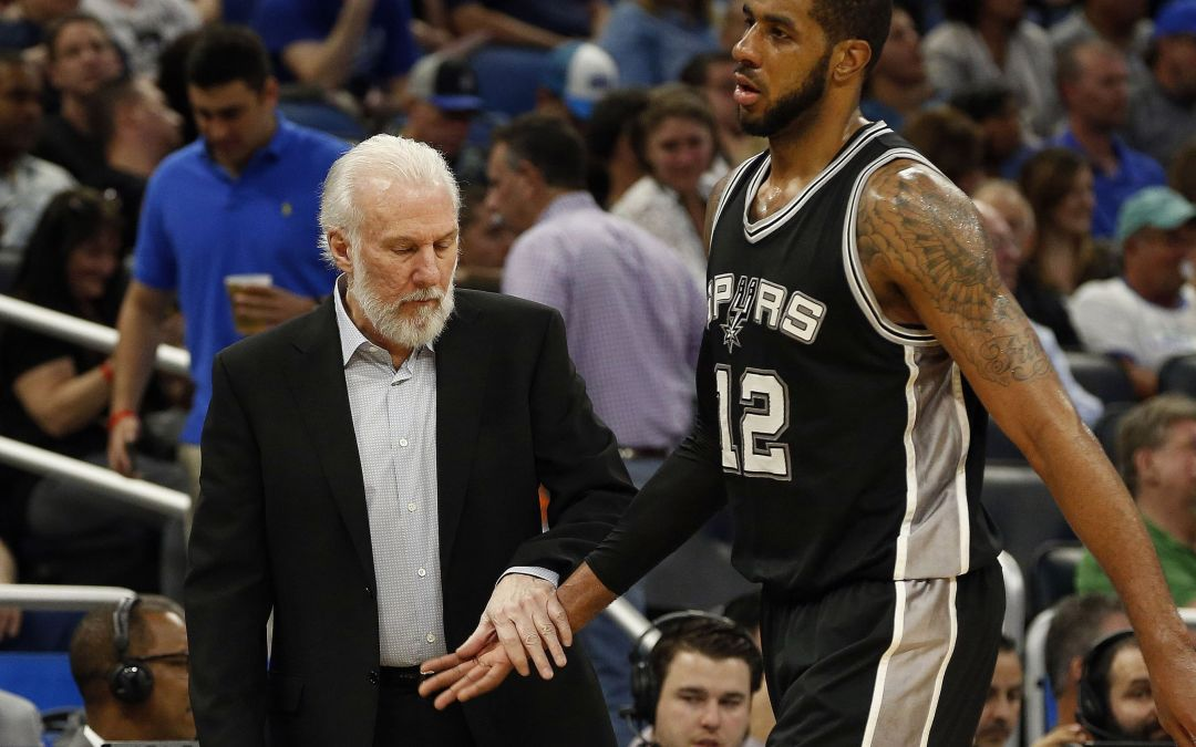 Spurs' LaMarcus Aldridge out indefinitely with minor heart arrhythmia