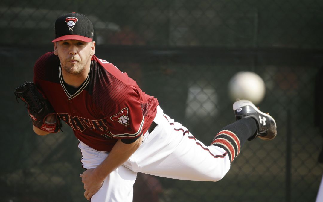 Diamondbacks' Andrew Chafin hoping to save his bullets