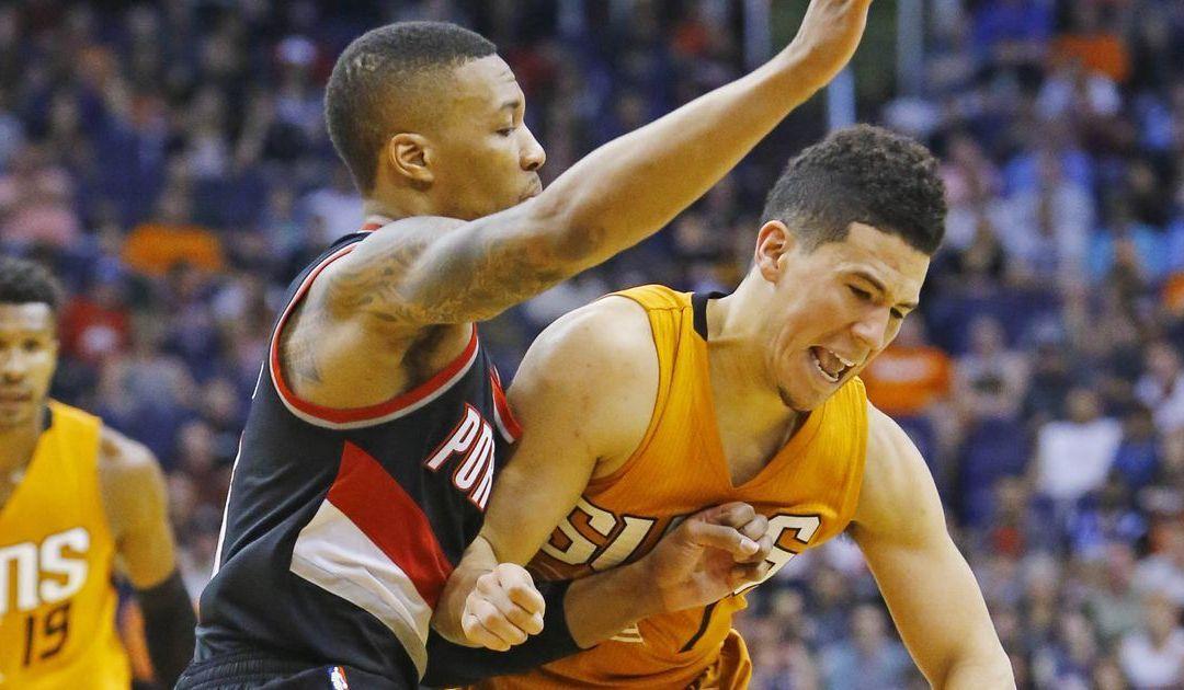 Portland's Damian Lillard, C.J. McCollum fuel win over Phoenix Suns