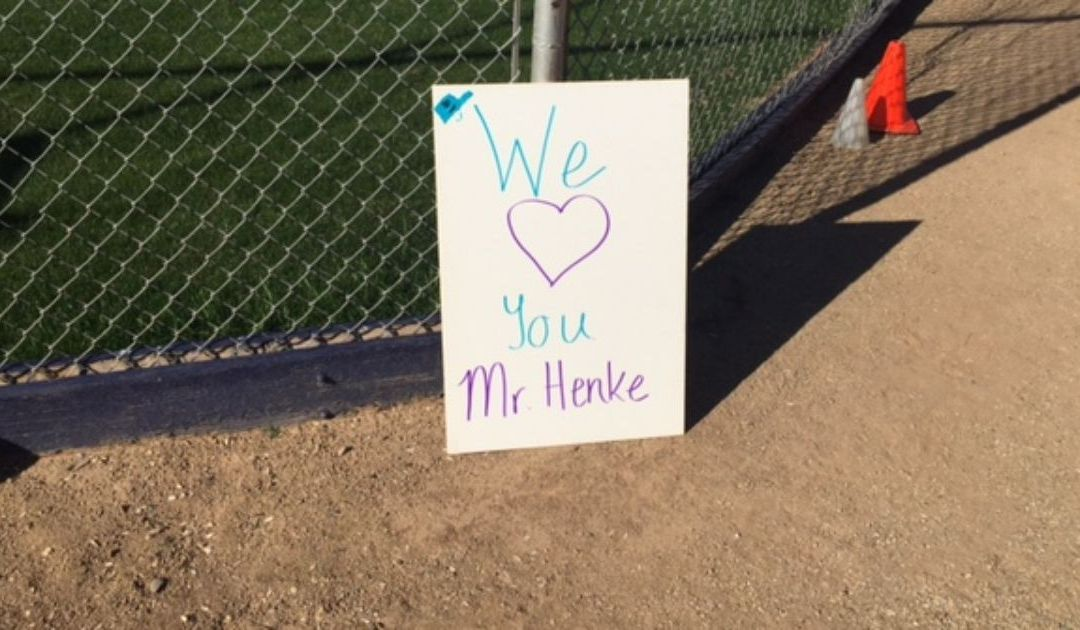 Bourgade Catholic remains connected to beloved baseball coach after his death