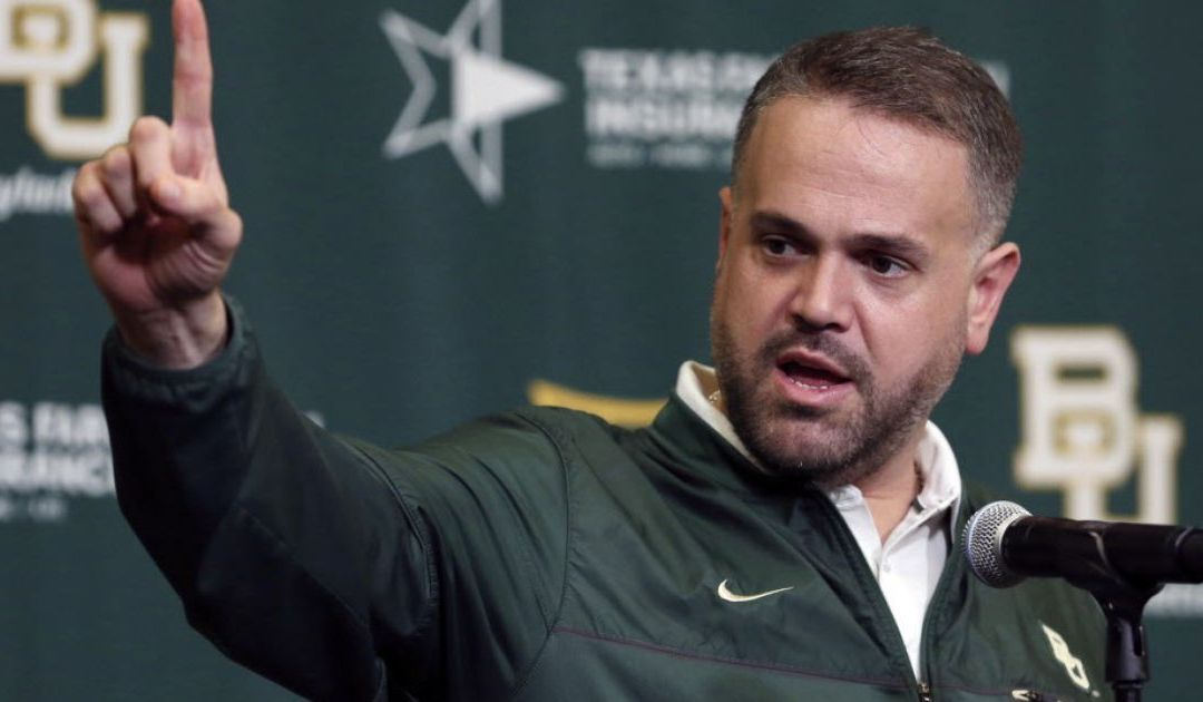Baylor fires associate director for football operations