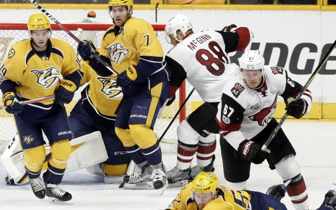 Arizona Coyotes at Nashville Predators