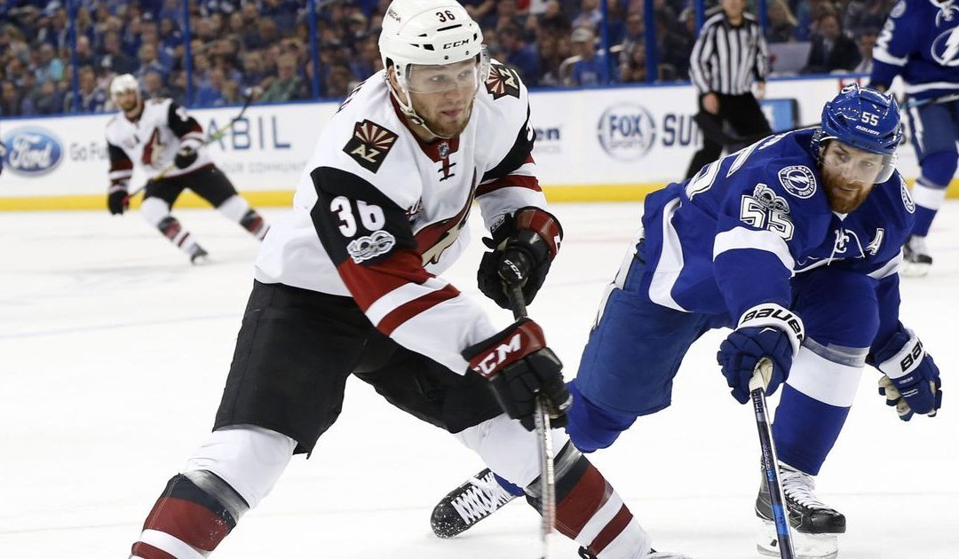 Coyotes' Christian Fischer tries to make most of call-up