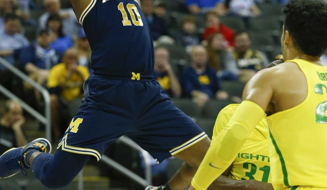 Michigan's wild ride comes to a close in Sweet 16 loss to Oregon
