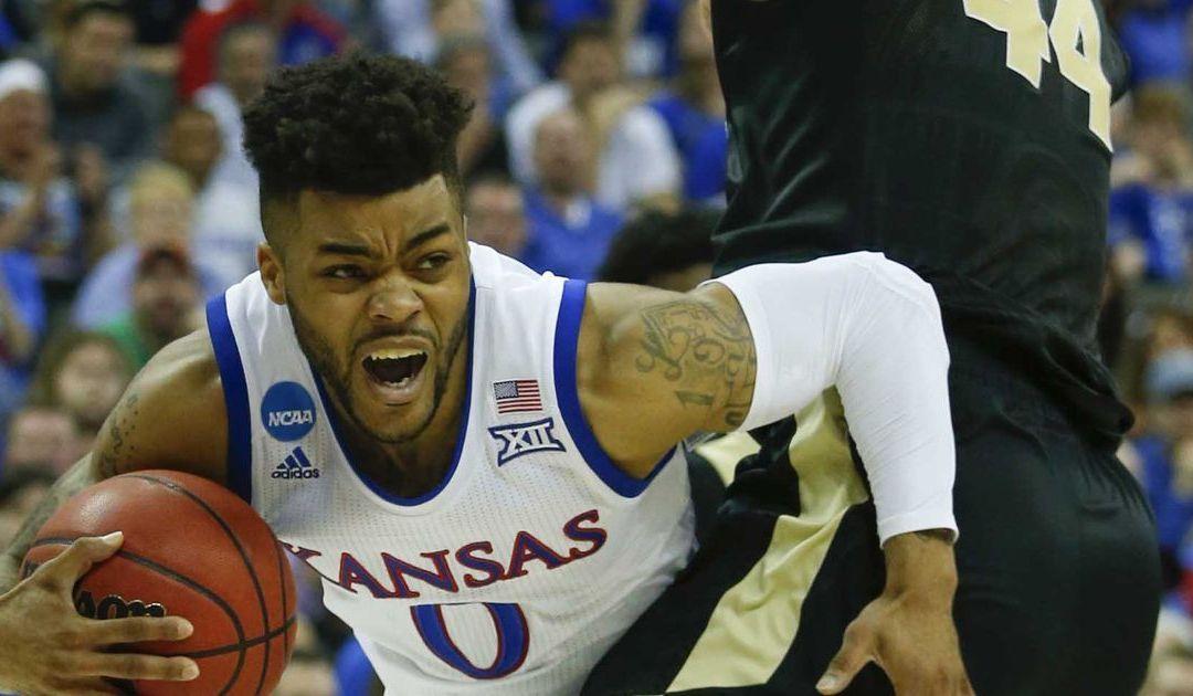 No. 1 Kansas overwhelms No. 4 Purdue, advances to Elite Eight