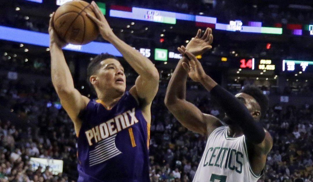 Devin Booker scores franchise-record 70 points but Suns fall in Boston