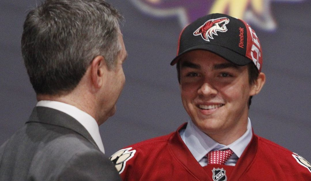 Arizona Coyotes sign Clayton Keller to entry-level contract