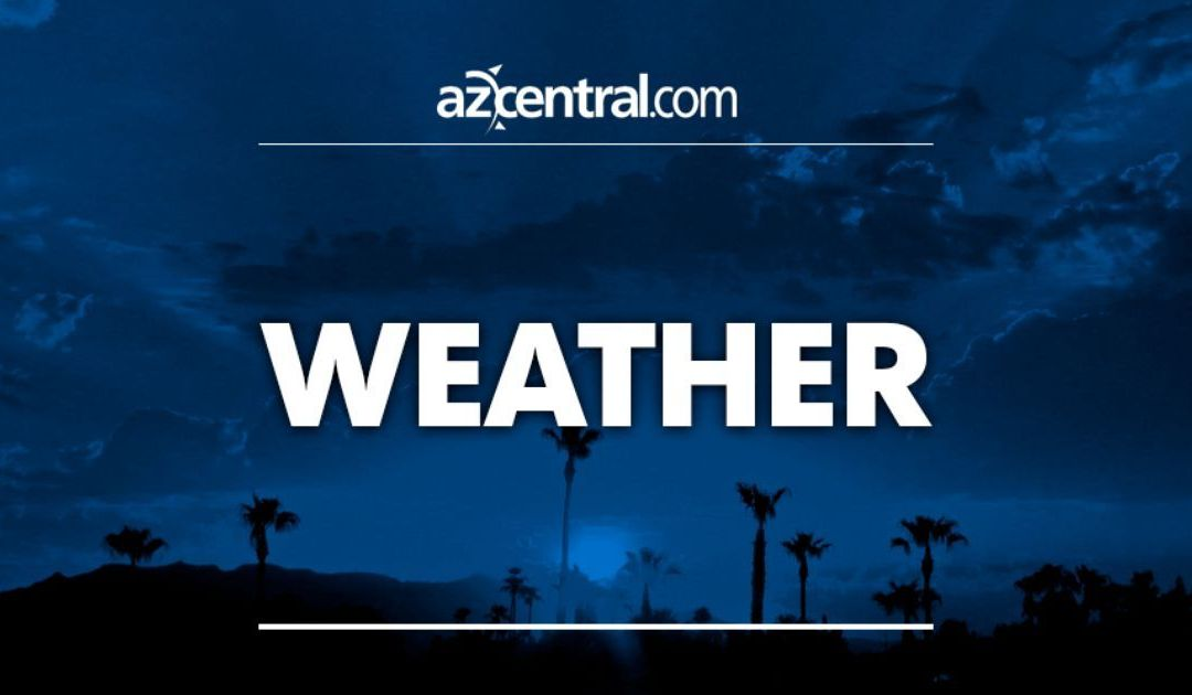 High winds, rain, snow blow through Arizona