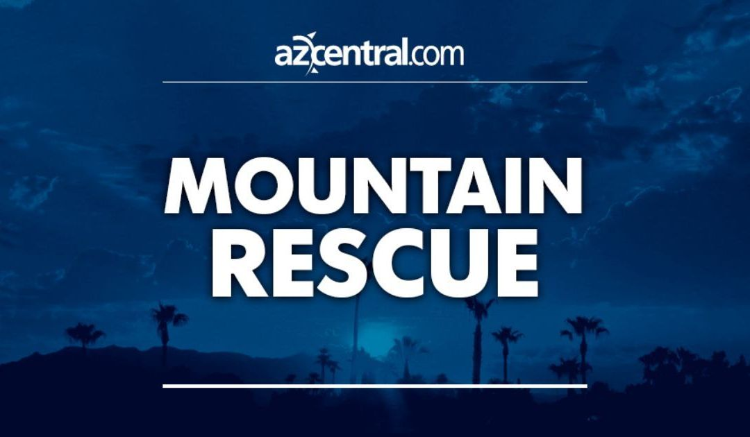 Phoenix fire crews perform South Mountain 'Big Wheel' rescue