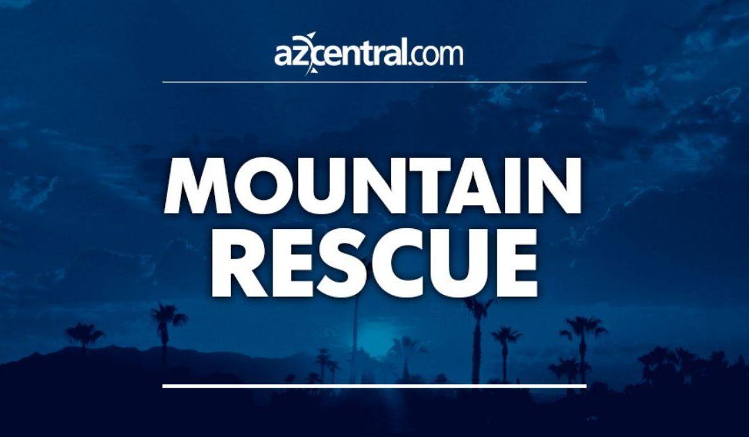 Phoenix fire crews perform South Mountain 'Big Wheel' rescue