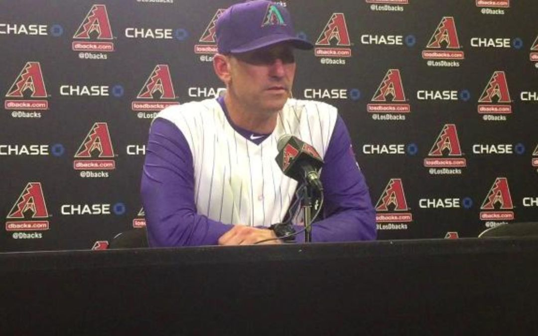 D-Backs manager Lovullo on starting year 3-1