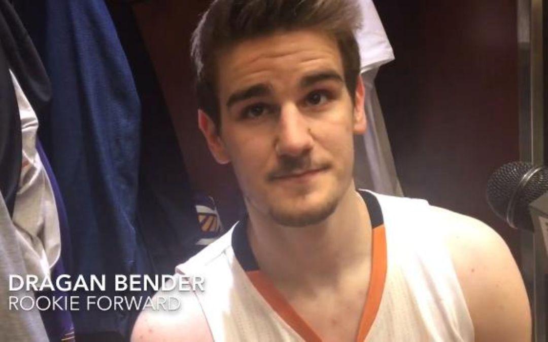 Dragan Bender on Suns win over Mavericks
