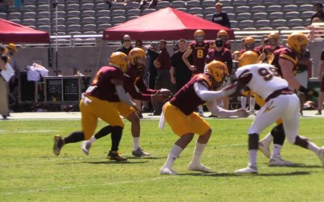 ASU shows off some offense in spring game