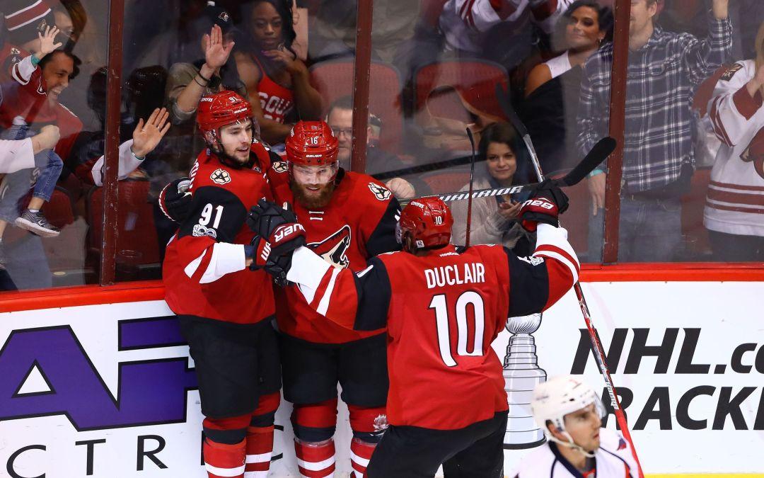 Arizona Coyotes victorious in second crack at Washington Capitals