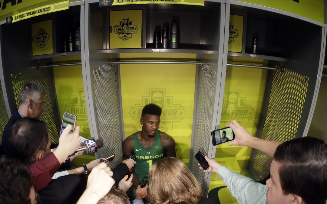 Oregon's run ends in disappointment with Final Four loss to North Carolina