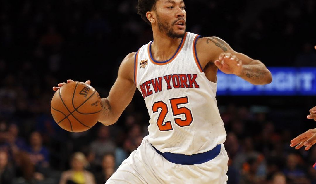 Knicks' Derrick Rose out for season with torn meniscus