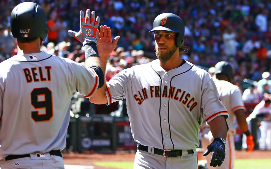 Madison Bumgarner becomes first pitcher to hit two home runs on Opening Day