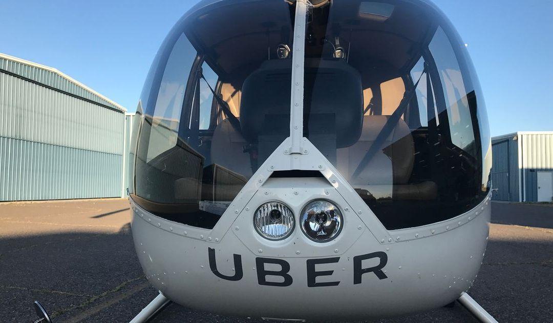 Uber offering helicopter rides around University of Phoenix Stadium