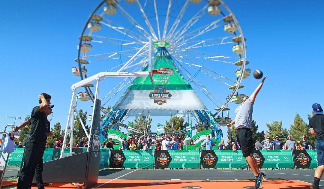 NCAA Final Four championship in Arizona: Tailgating in full swing