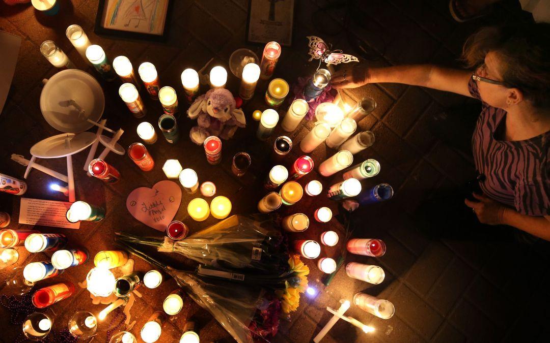 Candlelight vigil for Isabel Celis in Tucson