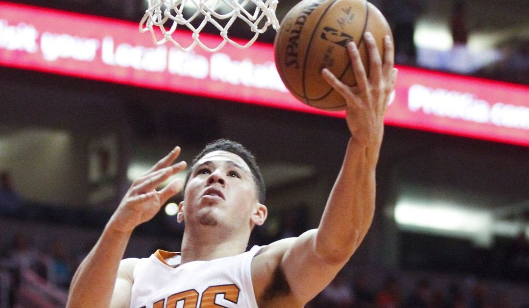Suns' Devin Booker steals show from Russell Westbrook
