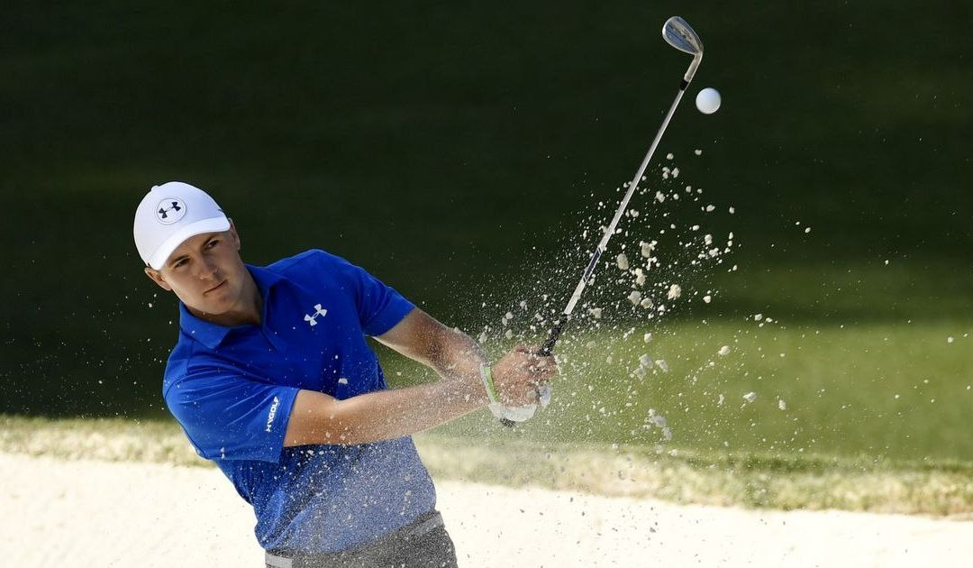 Jordan Spieth's round unravels but he picks himself up