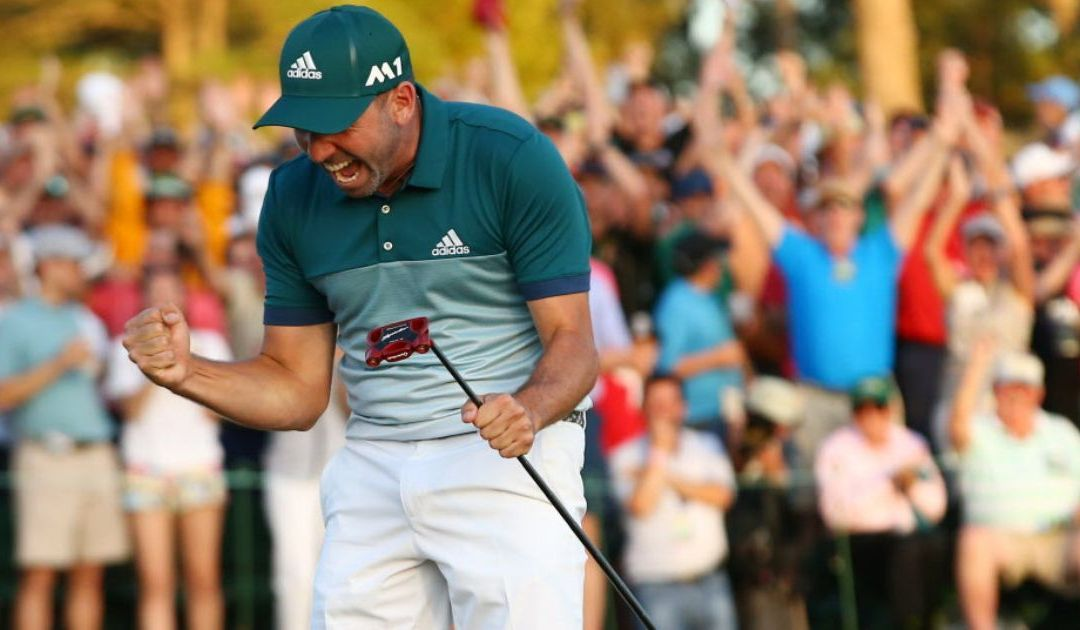 Sergio Garcia finally rises to the occasion at Masters to win first major