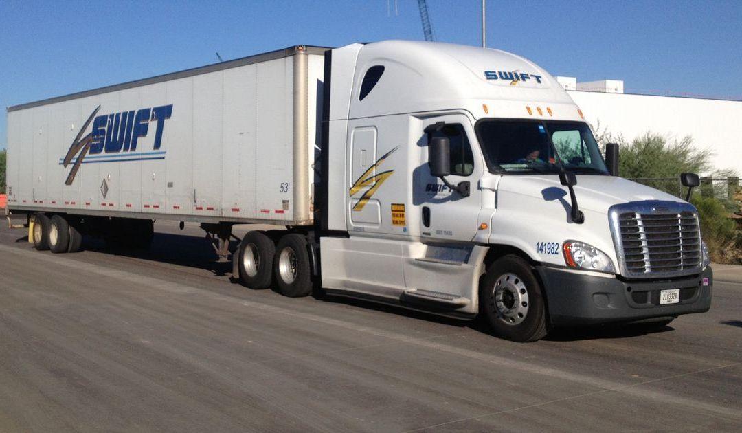 Knight, Swift combine to create Phoenix-based trucking giant