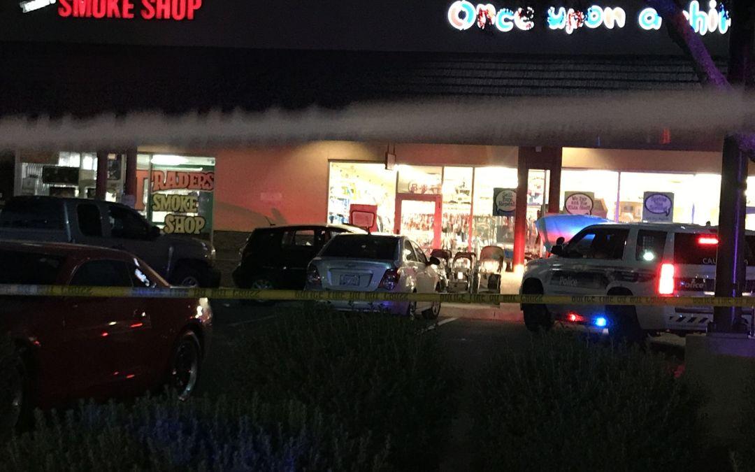 Man fatally shot as he drove toward officer