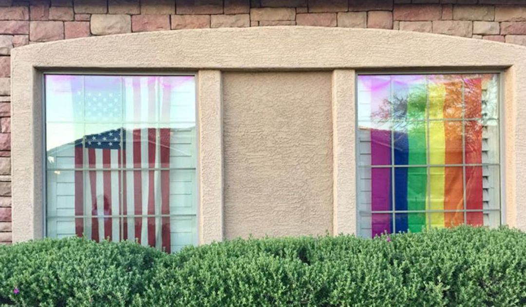 HOA cites Cave Creek homeowners for hanging rainbow flag