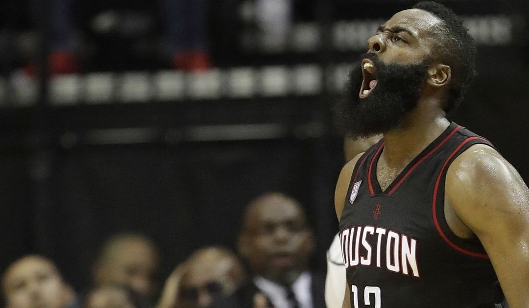 James Harden carries Rockets to Game 1 win over Russell Westbrook, Thunder