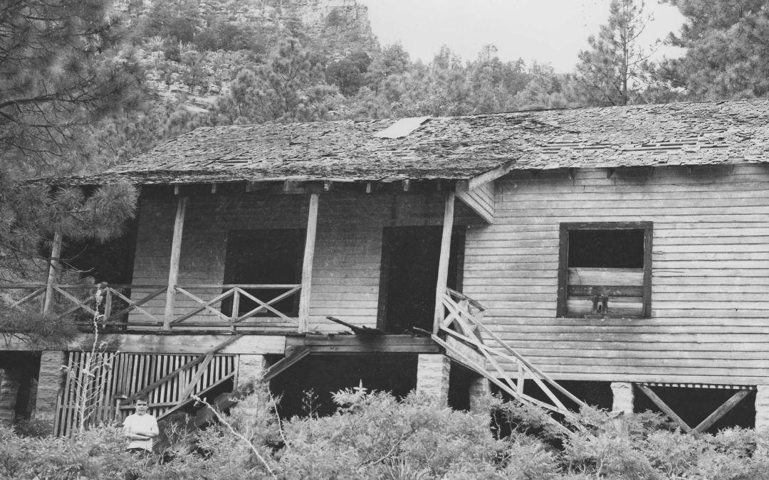 Zane Grey cabin near Payson