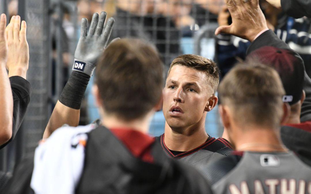 Diamondbacks rally for win, series split over Dodgers in LA
