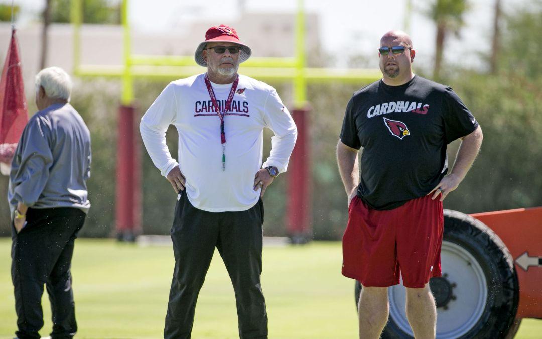 Cardinals' Steve Keim, Bruce Arians talk strong-armed QBs