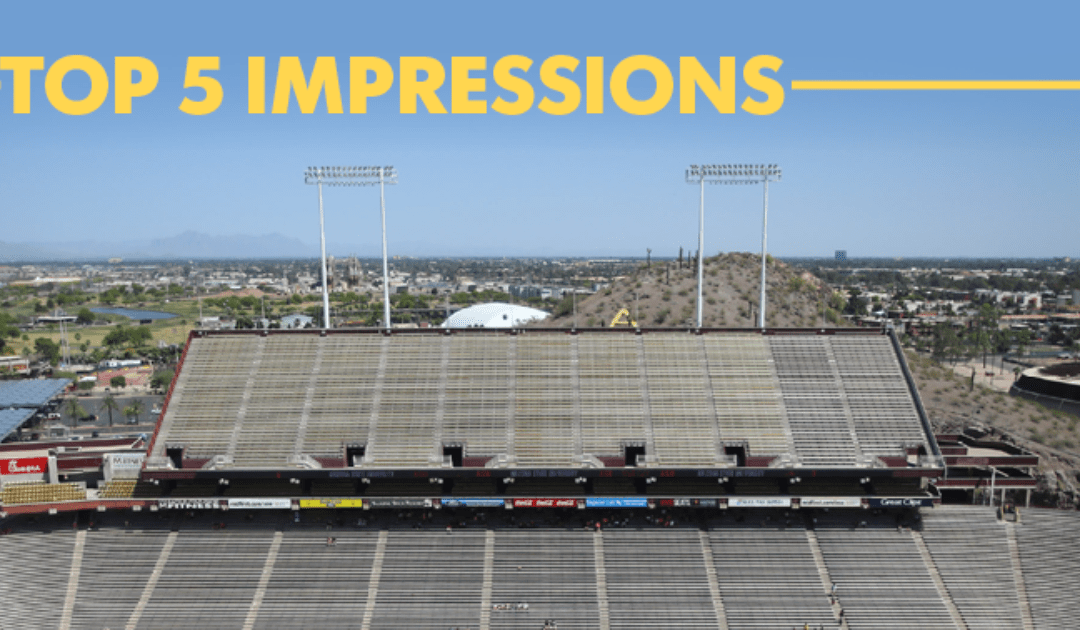Five impressions after Arizona State spring football