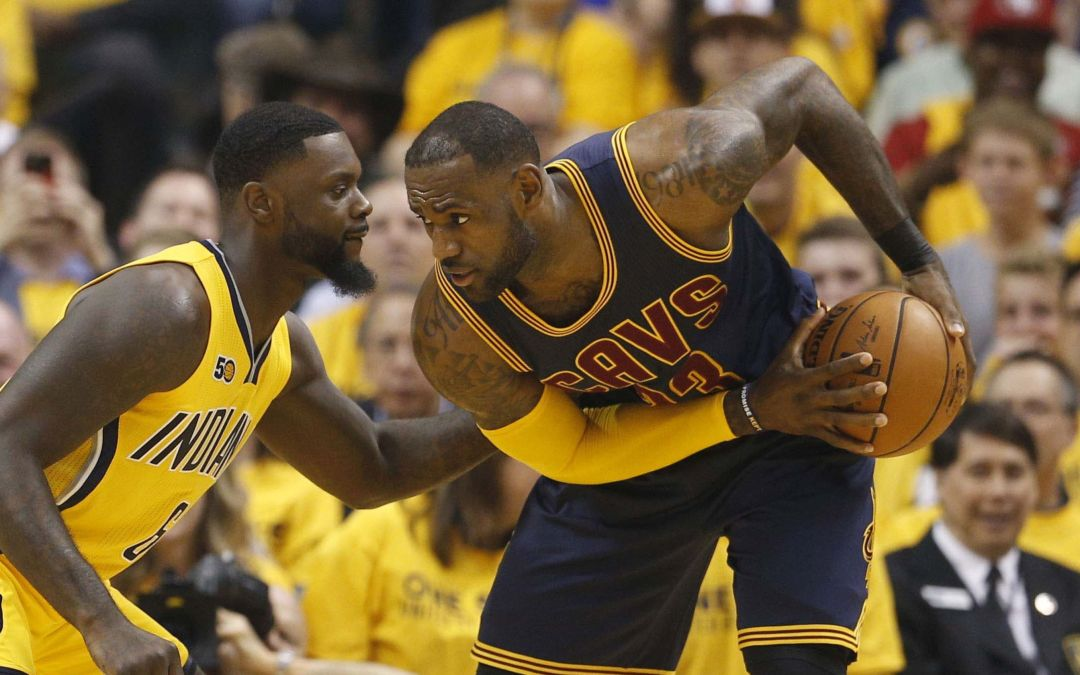 LeBron James, Cavs stage historic comeback to down Pacers for 3-0 lead