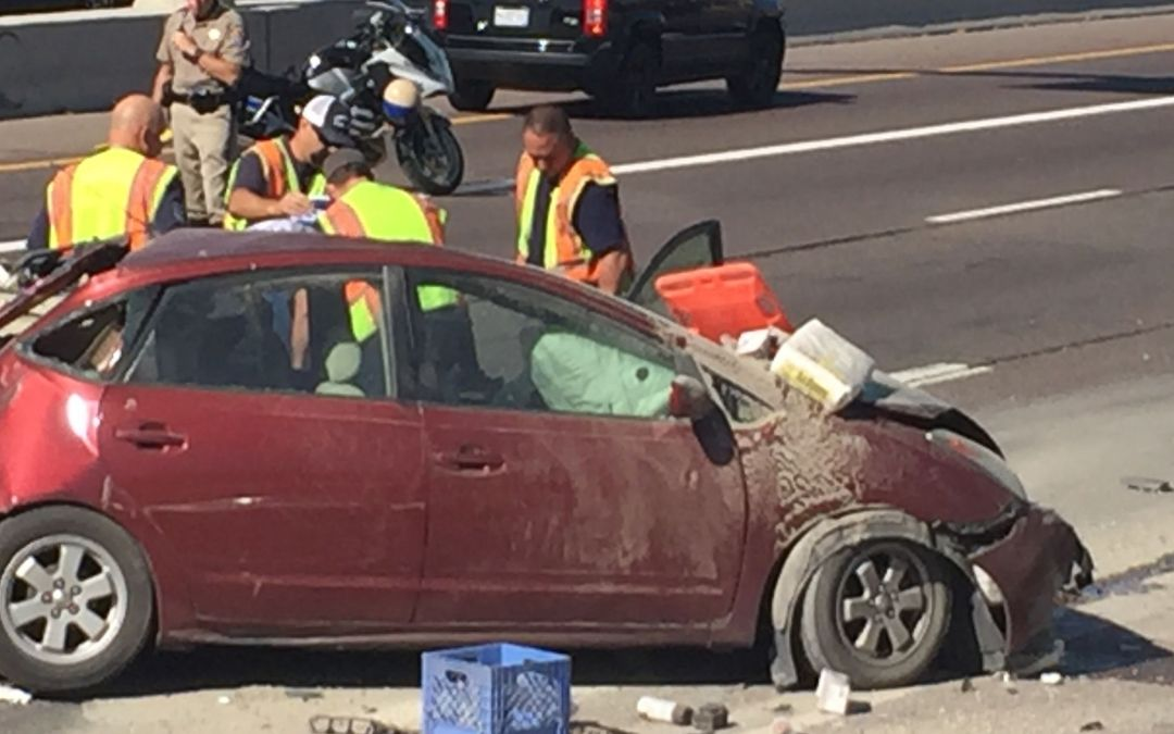 7-vehicle crash closes Loop 202 westbound in Phoenix