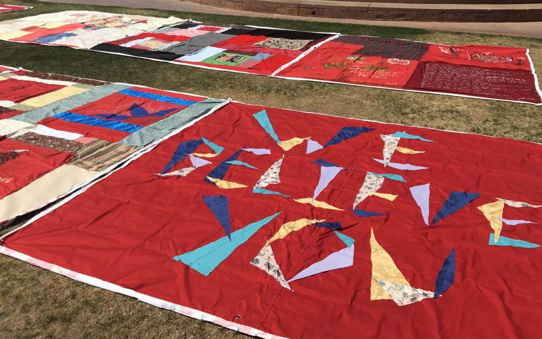 ASU hosts quilt honoring sexual-assault survivors