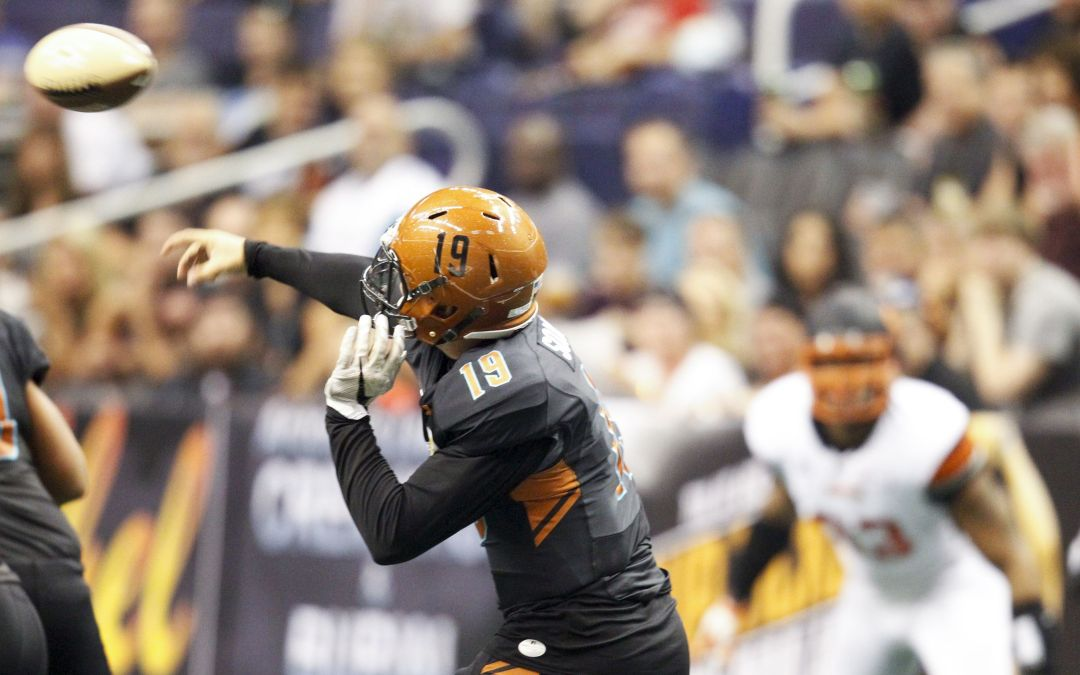 Rattlers fall to 1-3 at home at midway point in 1st IFL season