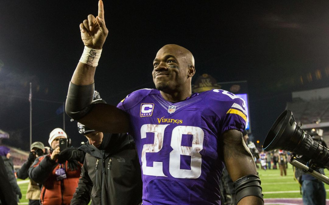 Adrian Peterson tells ESPN he will sign with New Orleans Saints