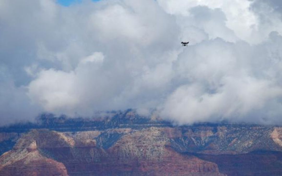 Grand Canyon rangers use drones in search for missing hikers