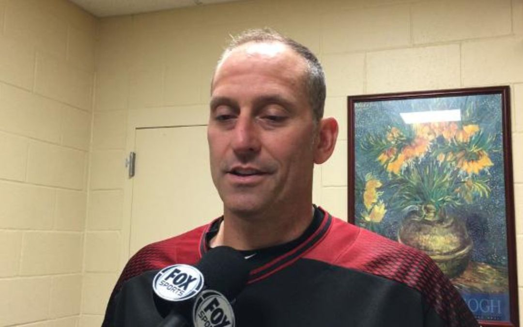 Torey Lovullo after D-Backs pound Padres 9-1